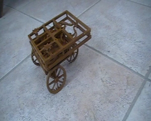 Automobil von Leonardo Da Vinci